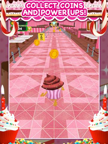 Скачать 3D Cupcake Girly Girl Bakery Run Game FREE