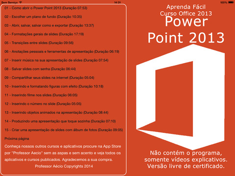 Tutorial for Power Point 2013 Edition