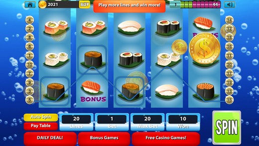 Big Splash Slots Ultra - The Underwater Ocean Voyage Casino