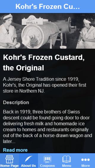 Kohr's the Original