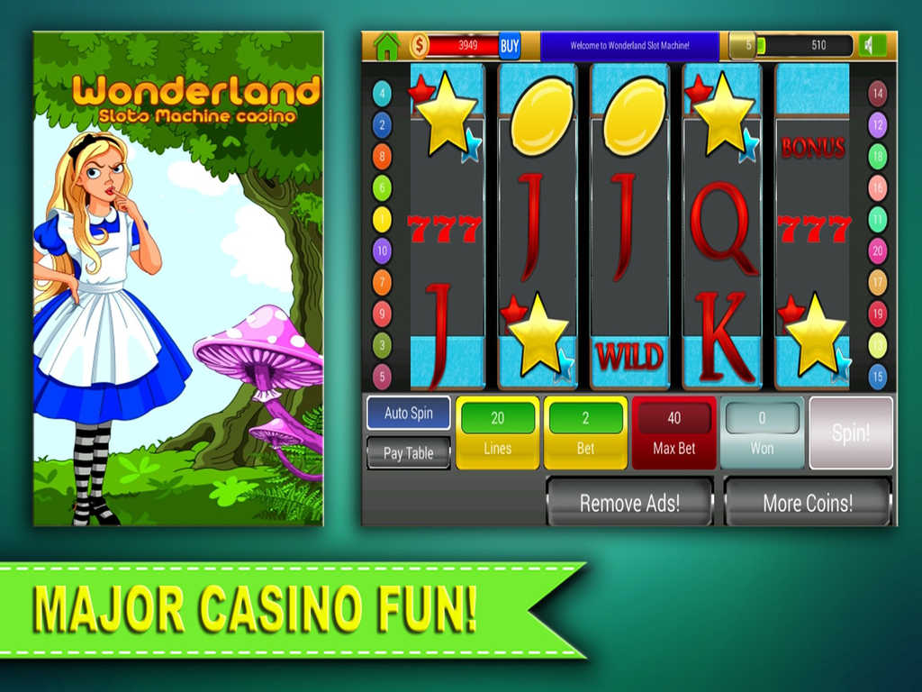 Wonderland Casino Review