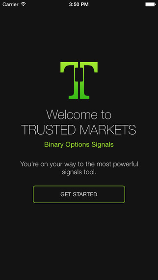 Trusted Binary Options Signals