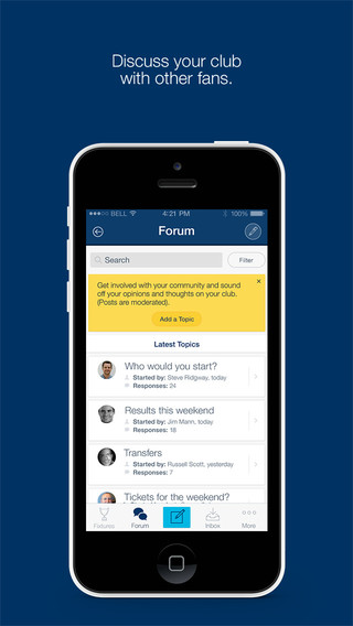 Fan App for Wycombe Wanderers FC