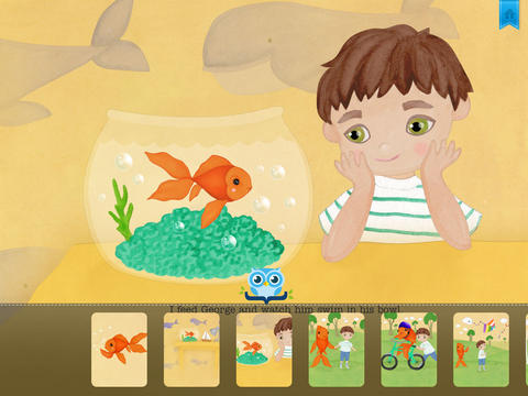 George the Goldfish - Another Great Children's Story Book by Pickatale HD