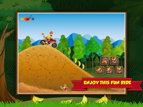 Amazon Race Xtreme HD - new monkey kong hill climb bike race game