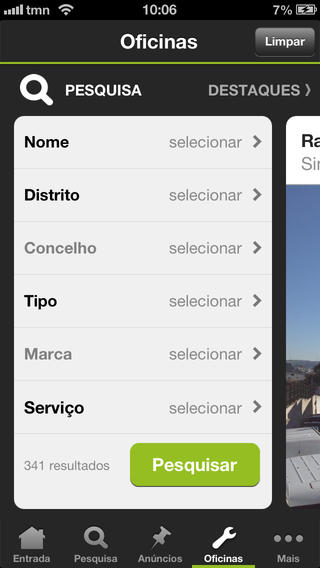 Auto SAPO iPhone Screenshot 4