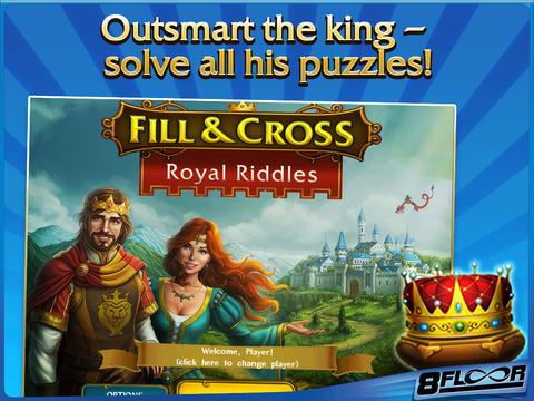 Fill and Cross. Royal Riddles HD Freescreeshot 1