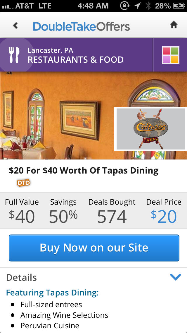 App shopper doubletake offers free local coupons 50 for Coupon cabin app