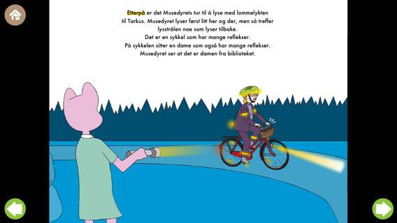 Flaggi-Lise finner en Refleks