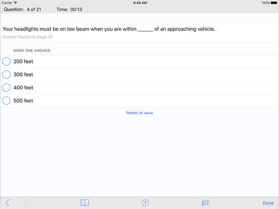 DMV Test Prep - Maryland iPad Screenshot 3
