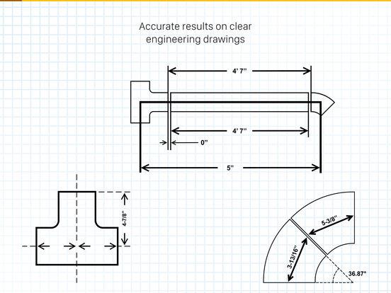 Pipe Fitter Calculator+ Screenshots