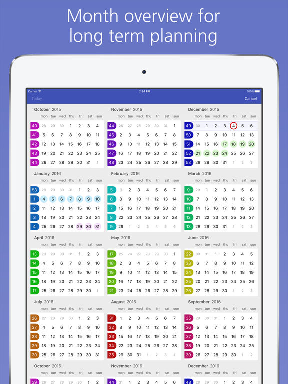 Easy Calendar screenshot