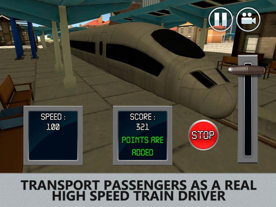 Euro Bullet Train Driving Simulator 3D Full Screenshots