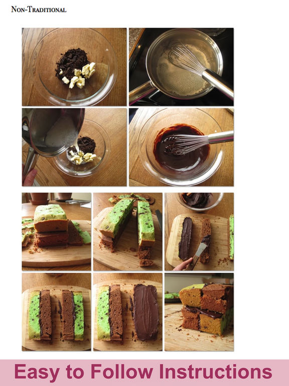 The Confident Baker Magazine with Recipes for Desserts and Bread screenshot