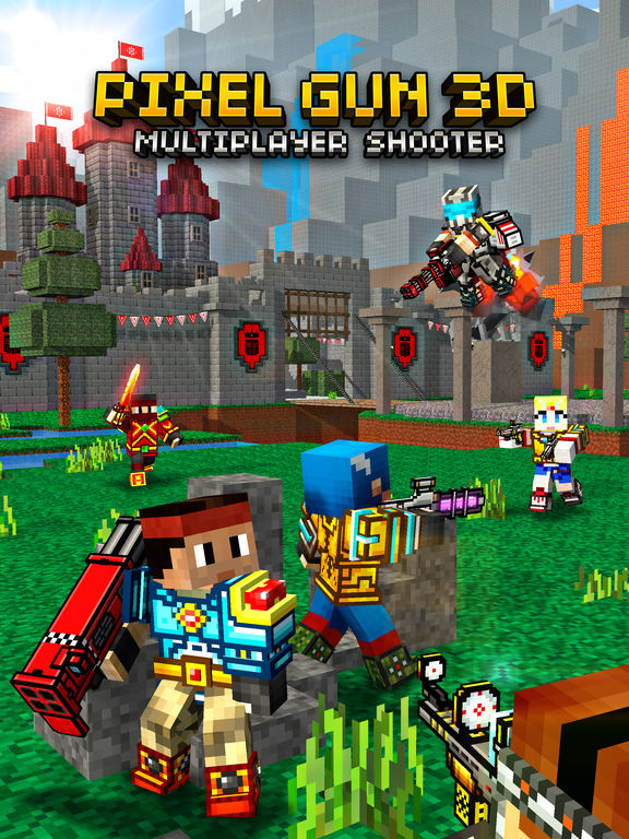 Pixel Gun 3D Screenshots