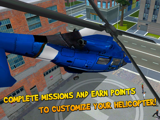City Helicopter Flight Simulator 3D Full Screenshots