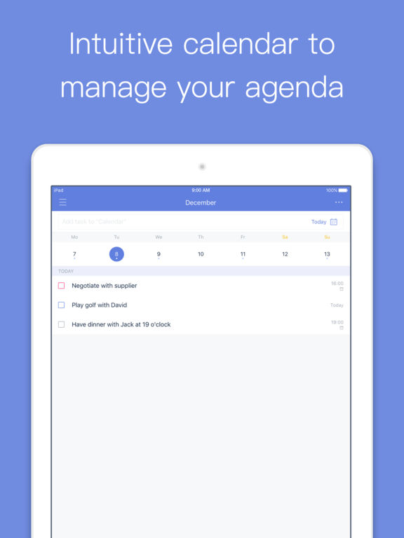TickTick - your to-do list & task management screenshot