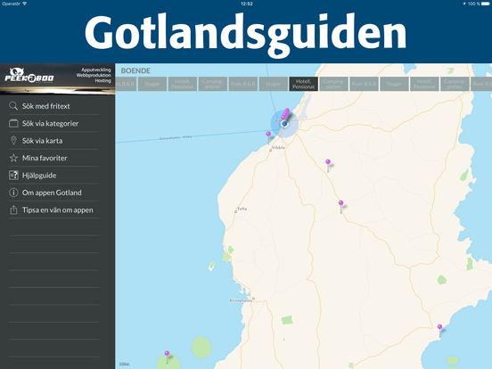 Gotland iPad Screenshot 3