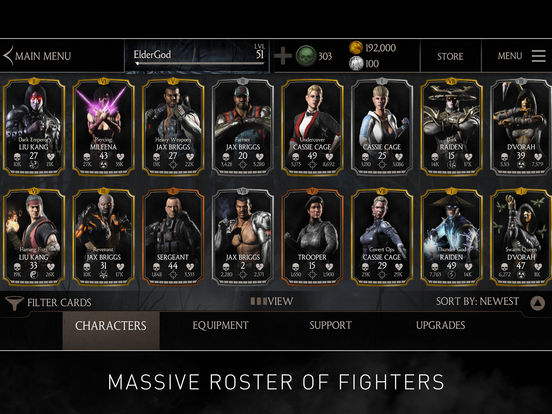 Screenshots of MORTAL KOMBAT X for iPad