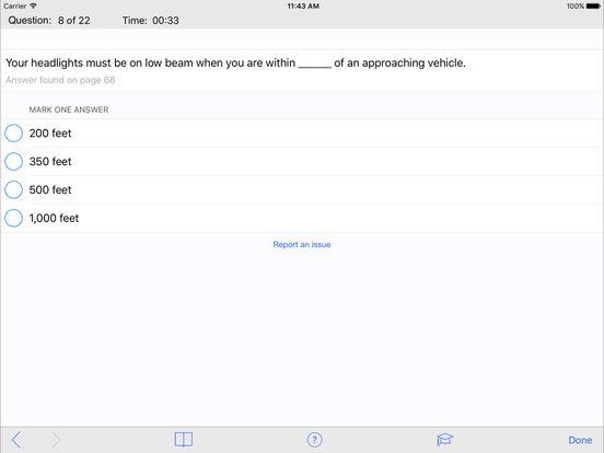 DMV Test Prep - Minnesota iPad Screenshot 3