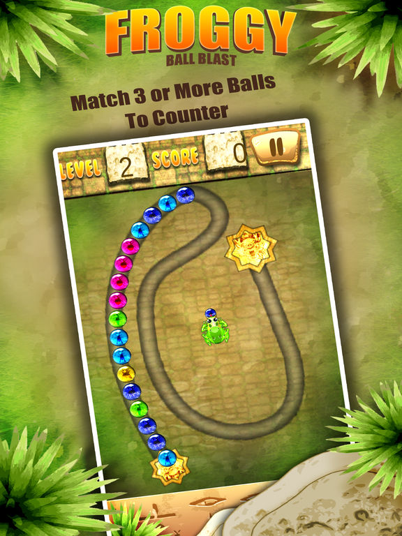 Froggy Ball Blast-ballsshooter screenshot 8