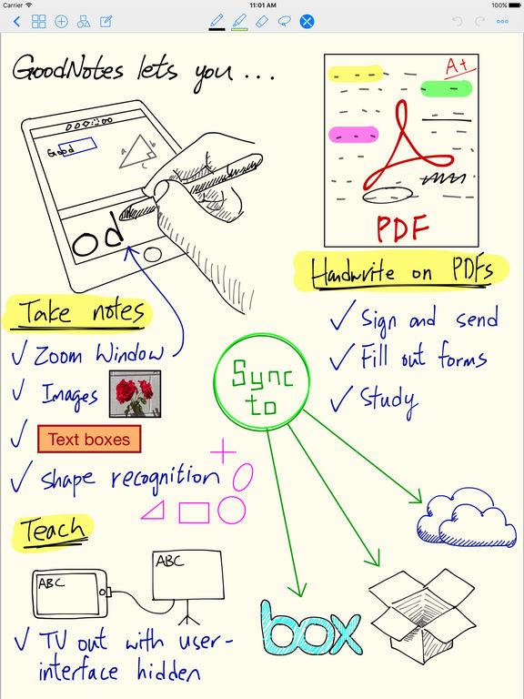 GoodNotes 4 - 메모와 PDF 앱스토어 스크린샷