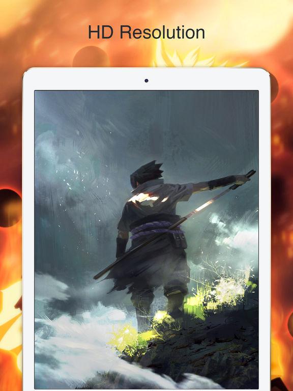 Screenshots of Wallpapes for Naruto Manga Anime Free HD for iPad