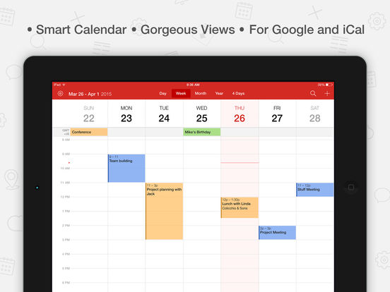 CalenMob Calendar- sync with Google Calendar screenshot