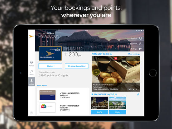 AccorHotels: hotel booking in over 95 countries screenshot