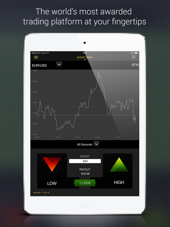 Options trading iphone app