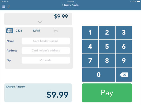 Usaepay Point Of Sale Payment System On The App Store