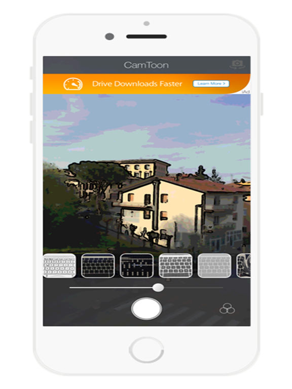 Мультфильм камеры Эскиз Аватар Free - Sketch эффекты на фото Скриншоты4