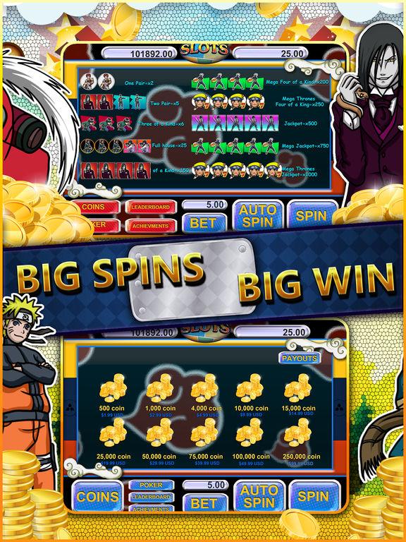 Naruto slot machine