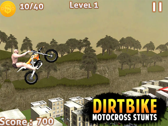 DIRT BIKE MOTOCROSS STUNTS -FREE DIRT BIKE 3D GAMEscreeshot 4