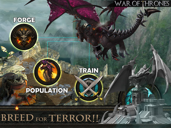 War of Thrones – Dragons Story & Kingdoms on Fire screenshot