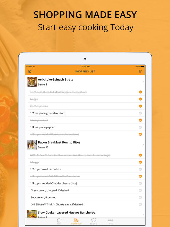Egg recipe Pro - cook and learn guide Screenshots