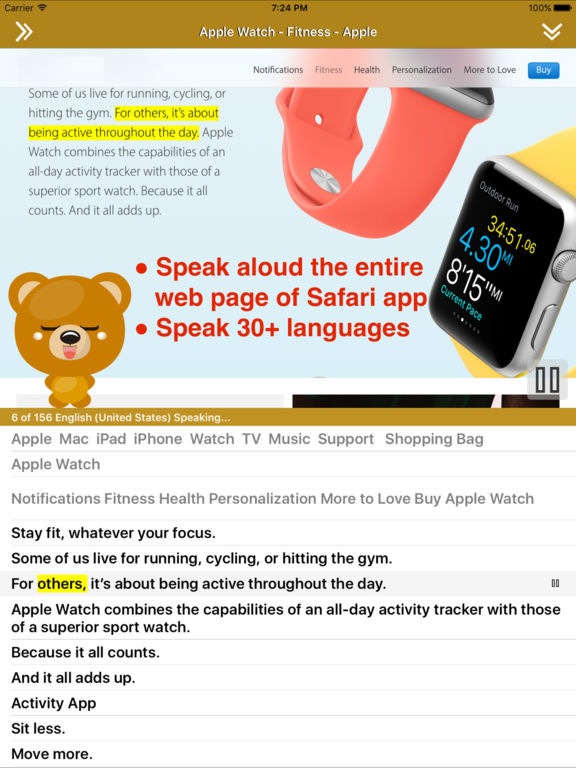 Translate 2 for Safari - Translate & Speak Web Screenshots