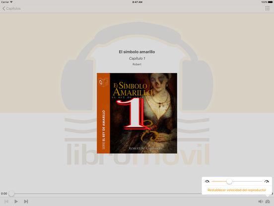 Memorias de un Loco - Audiolibro iPad Screenshot 2