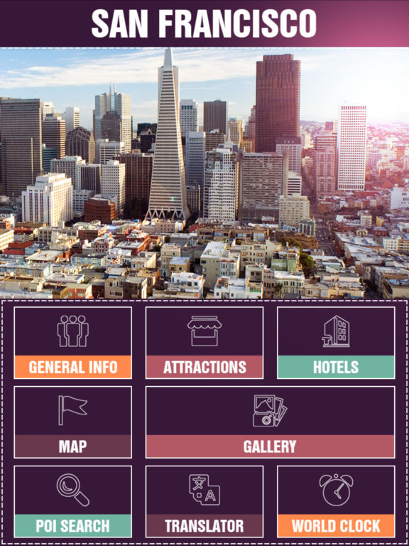 App shopper san francisco tourism guide travel for Travel guide san francisco