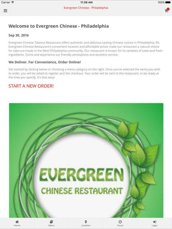 App Shopper: Evergreen Chinese Restaurant (Food & Drink)