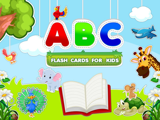 ABC Flash Cards For Kids iPad Screenshot 1