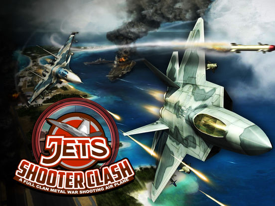 Jet Shooter Clash - A Full Clan-ipad-0