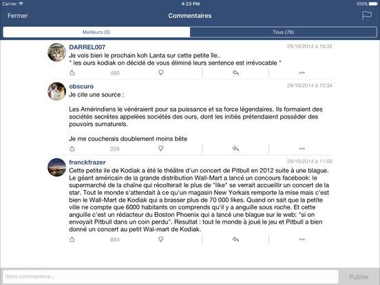 Se Coucher Moins Bête iPad Screenshot 3