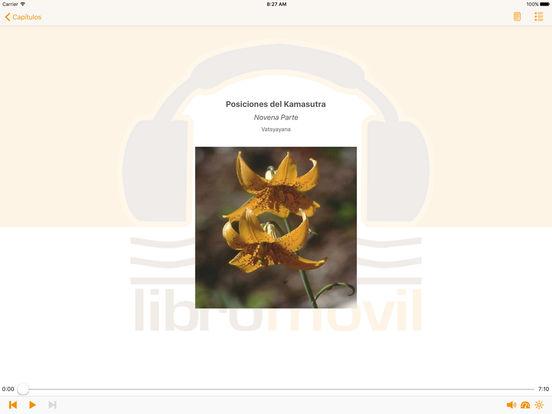 Posiciones del Kamasutra – AudioEbook iPad Screenshot 1
