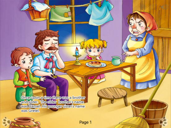 Interactive Books-Classic Fairy Tales Collection Lite-by iBigToy iPad Screenshot 2