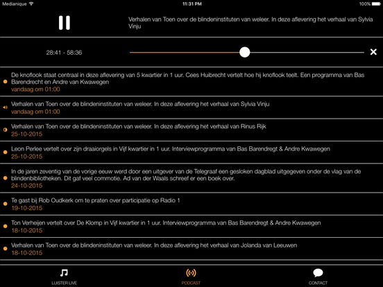 Radio509 iPad Screenshot 2