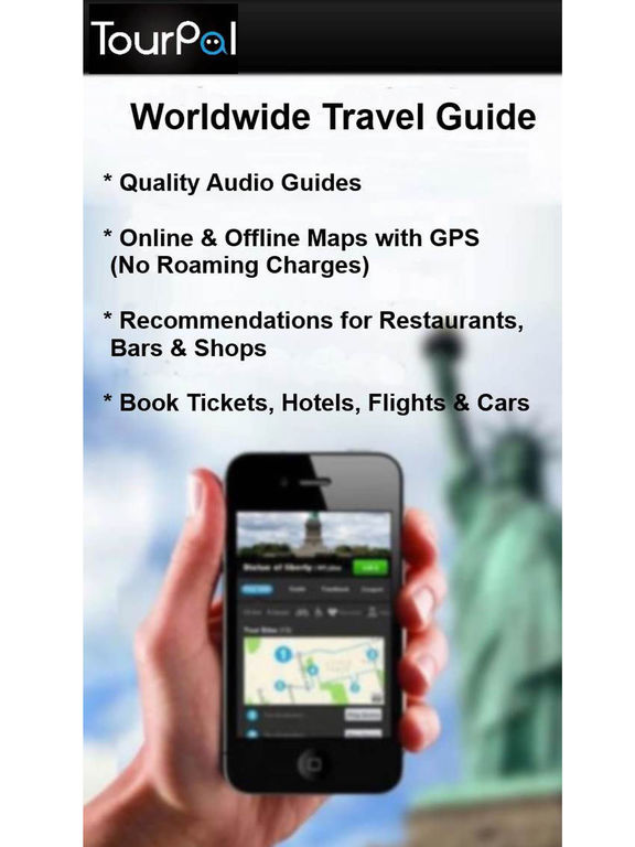 TourPal Travel Guide, Audio Tours & Tour Planner screenshot