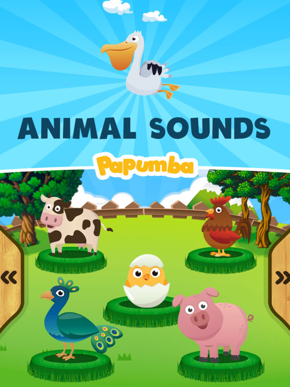 Animal Sounds for Baby and Toddler Screenshots