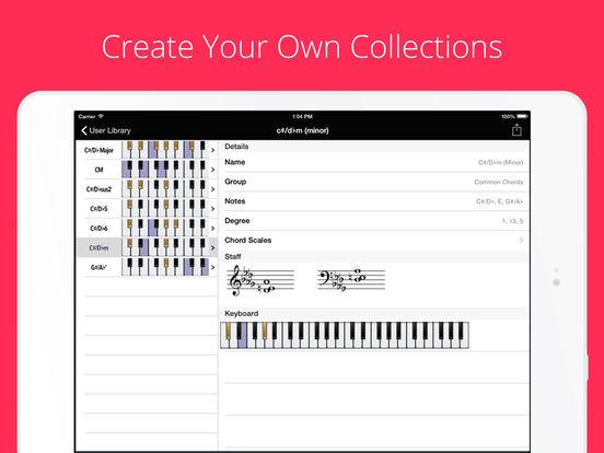 Chords, Scales Piano Companion PRO, Progressions Screenshots