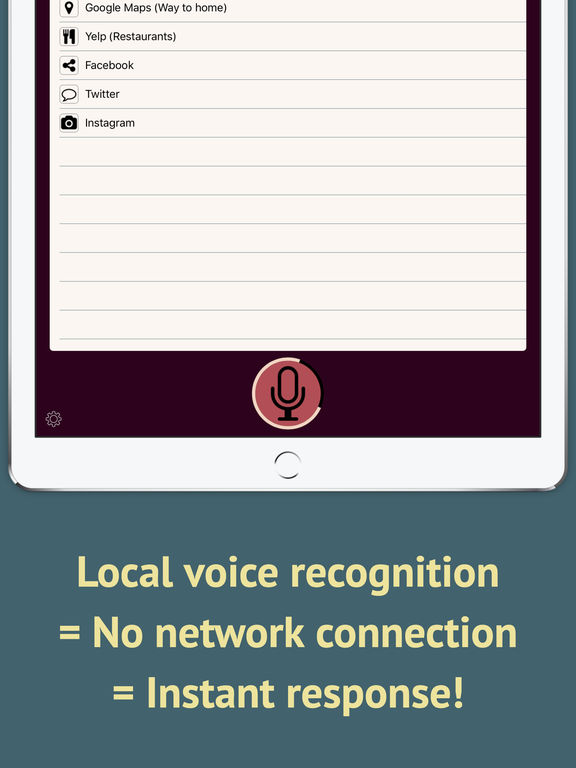 Voice Launcher Screenshots